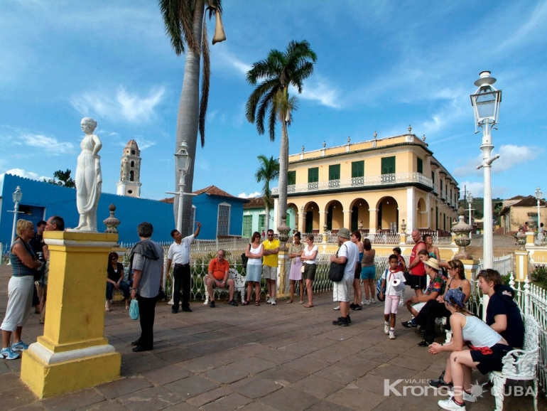 Trinidad old city panoramic view - Three Cities Tour