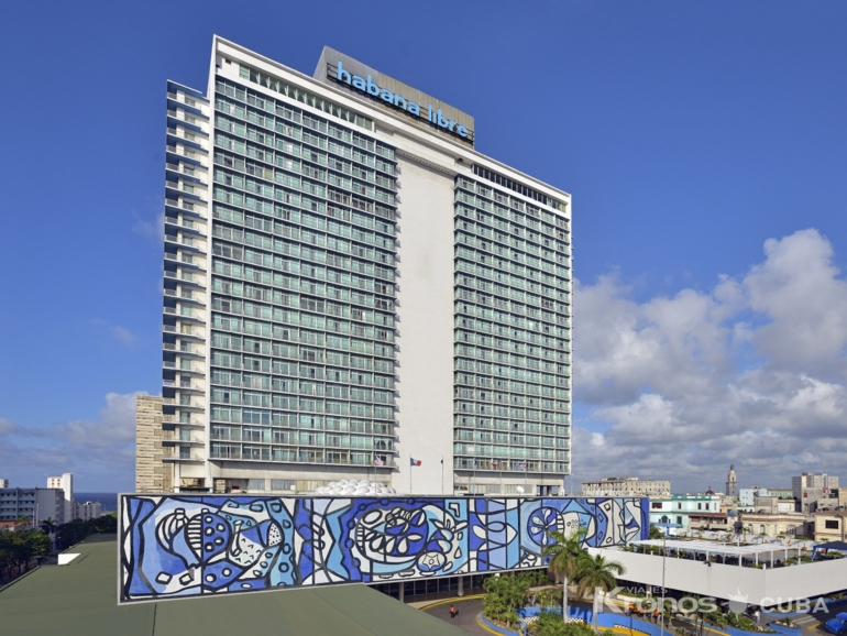 Panoramic hotel view - Tryp Habana Libre Hotel