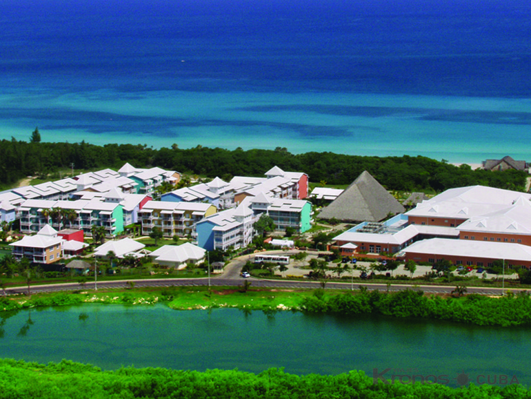 Aereal Hotel View - Royalton Hicacos Resort & Spa Hotel - Adults Only Over 18 Years Old
