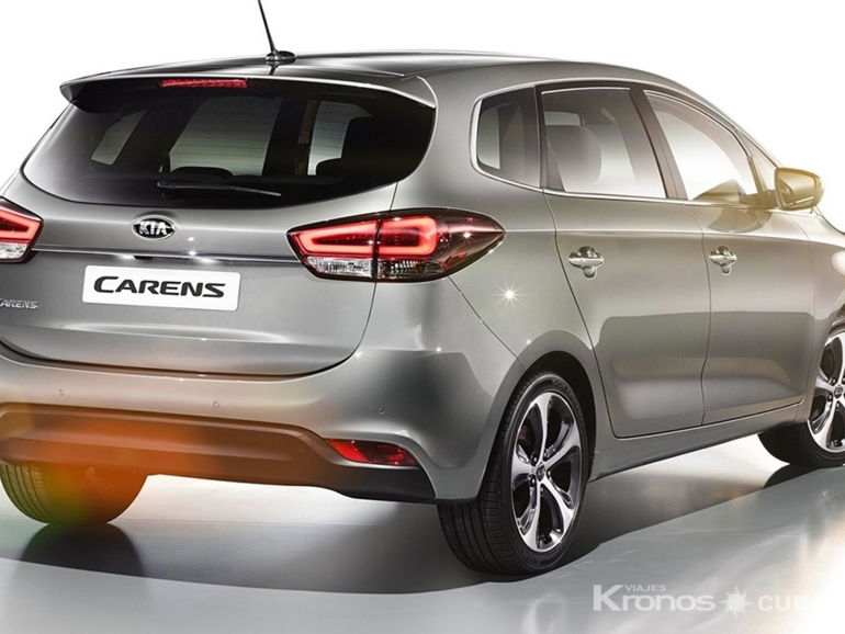 KIA CARENS exterior view - KIA MOTORS CARENS