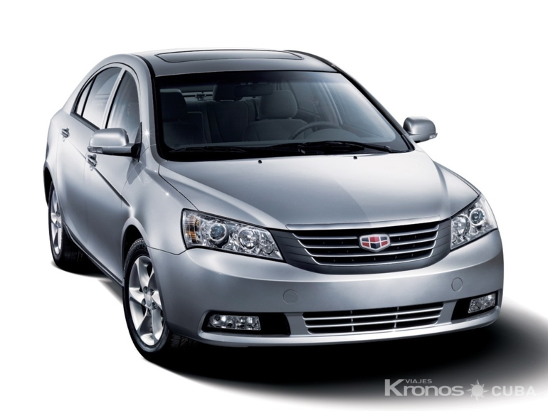 GEELY EMGRAND FE exterior view - GEELY EMGRAND FE