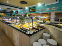 Hotel's buffet services