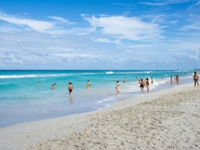 Varadero beach panoramic view, Matanzas