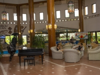 Panoramic lobby view