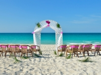 Wedding's service at the beach