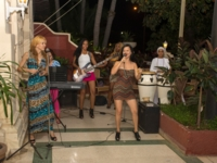 Traditional cuban music at hotel