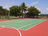 Hotel's multi sports court