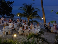 Gala dinner for groups at the beach