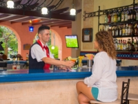 Bar services at the lobby