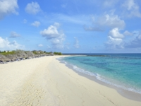 Panoramic beach view