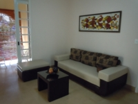 Apartment's living-dinning room