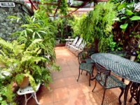 Inside patio view