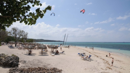 Playa Guardalavaca panoramic view, Holguín
