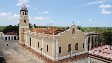 Cathedral of Bayamo panoramic view, Bayamo city