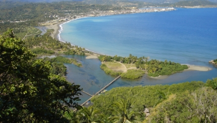 Baracoa bay panoramic view, Guantánamo