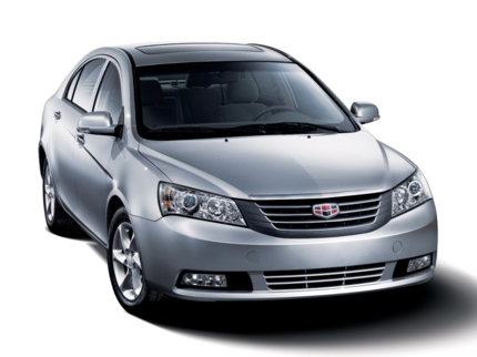 GEELY EMGRAND FE exterior view