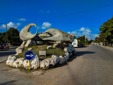 Crab monument, Caibarién city