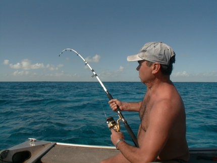 Deep sea fishing tour, Varadero beach
