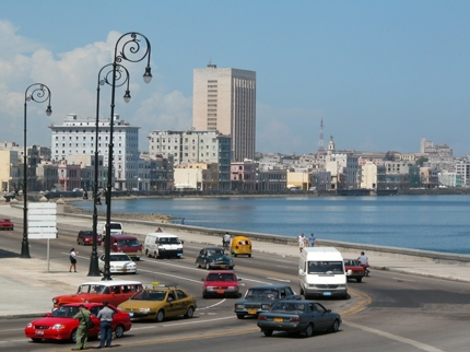 Havana city and the Malecon panoramic view