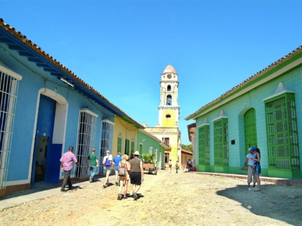 Trinidad old city panoramic view, Sancti Spíritus