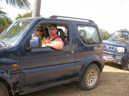 Sunset tour by jeep, Cayo Coco