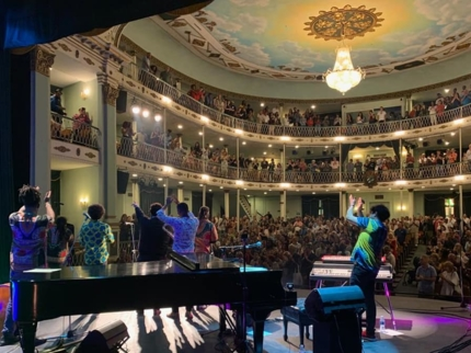 "Marti Theatre, Tour ""Old Havana in concert"""