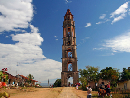 """""""Ride to Valley of the Sugar Mills + Sancti Spíritus in Old Fashion American Classic Cars"""" Tour"""