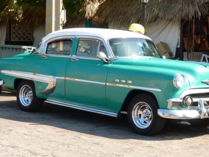 """Guamá - Punta Perdiz"" Private Tour in American Classic Cars"