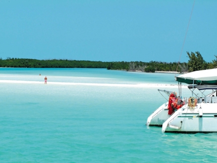Catamarant tours in Cayo Largo del Sur