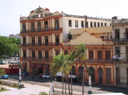 Partagás Tobacco Factory panoramic view