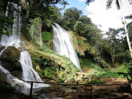 Mountaine adventure tour at Guanayara Natural Park, Topes de Collantes