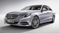 MERCEDES BENZ E 200 angular front exterior view